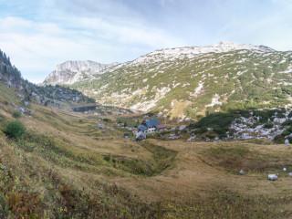 Pühringer Hütte, Totes Gebirge, Austria