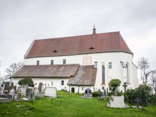 Kostel sv. Mikulas, Kasperske hory, Czech Republic2