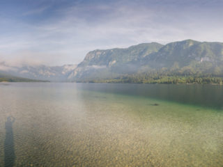 Bohinsko jezero, Slovenia