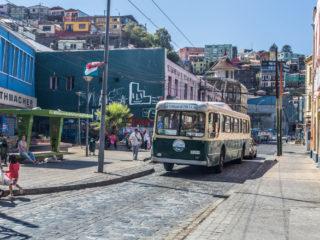 Trolebús, Valparaíso, Chile 7