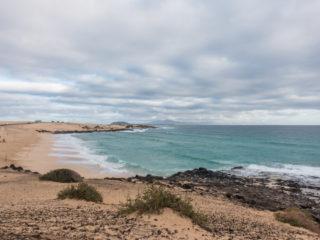 Playa Alzada, Dunas de Corralejo, Fuerteventura, Spain