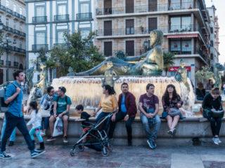 Plaza de la Virgen, Valencia, España 5