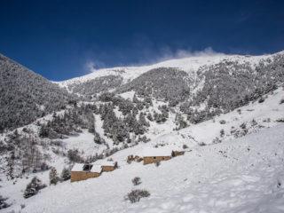 Bordes de Sevellà, Camino a Francoli, Andorra