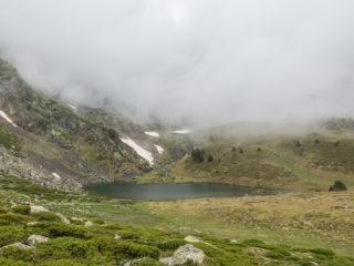Estany de Més Avall, Camino Angonella, Andorra