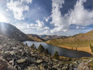 Estany de les Canals Roges, Vall D'Incles, Andorra